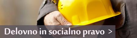 delovno in socialno pravo